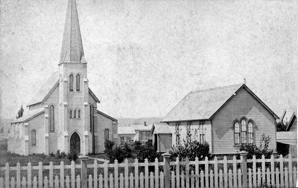 First St Matthew's Church and school room
