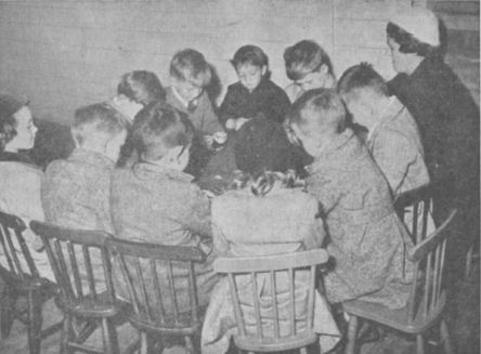 Junior Sunday School, 1953